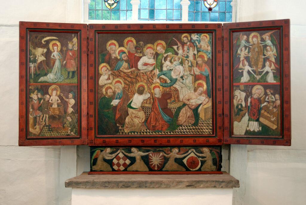 Alterretabel, St. Annen- Kapelle, Hameln- Wangelist